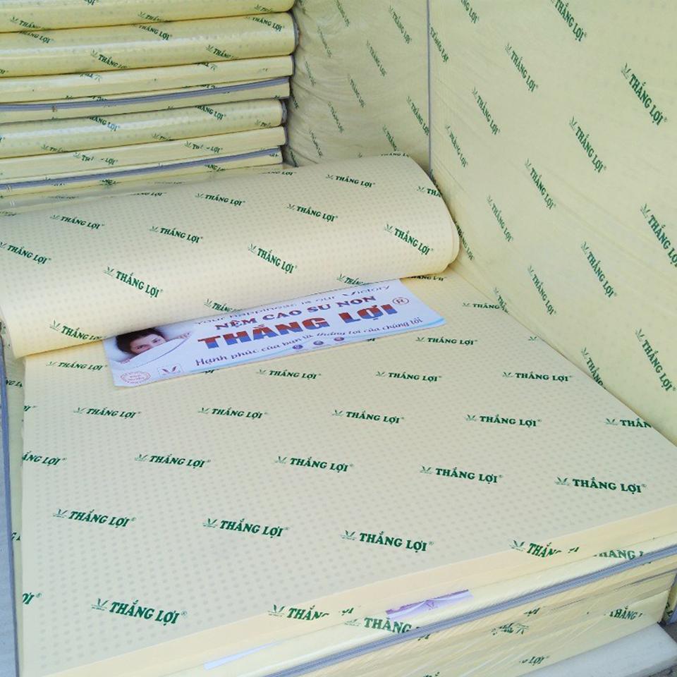 Offer Khuyến Mãi Nệm Cao Su Non Thắng Lợi 1m6x2mx10cm