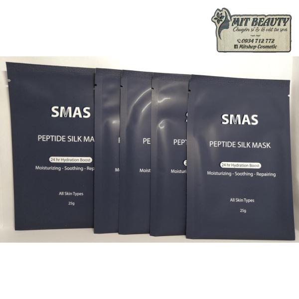 [HCM]Mặt Nạ Dưỡng Và Phục Hồi Da SMAS Peptide Silk Mask Nhật Bản date mới