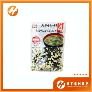 Canh Miso Rong Biển Đậu Hũ Khô Nagaya Nhật Bản Gói 100Gram thumbnail