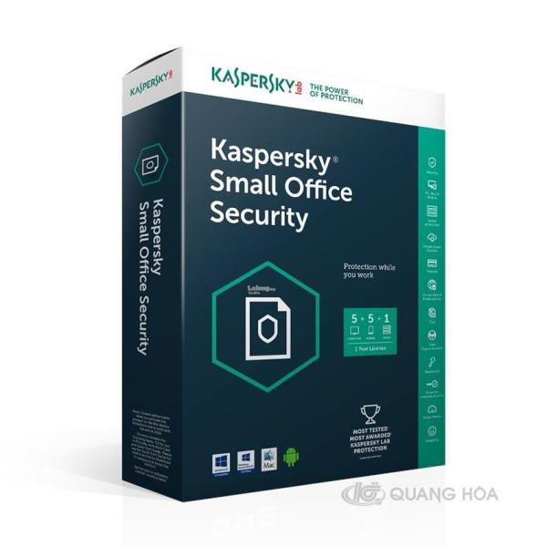 Bảng giá Phần mềm Kaspersky Small Office Security: Phong Vũ