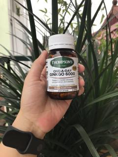 Viên uống bổ não - Thompsons Ginkgo 6000 (60 viên) thumbnail