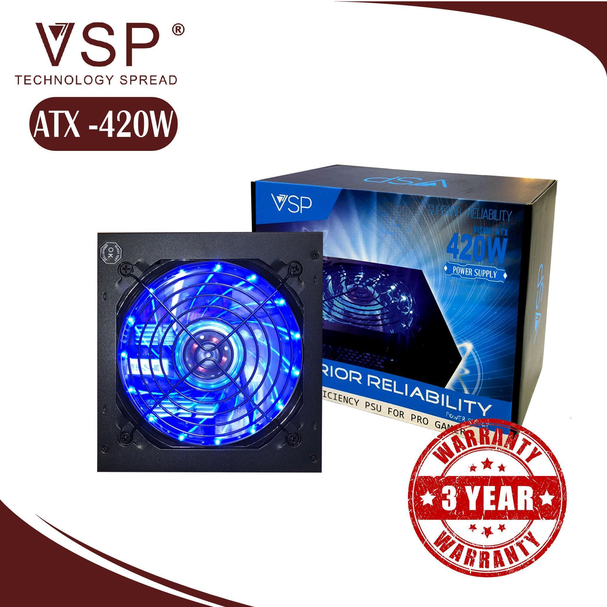 Giá VSP ATX 420W - LED  Full Box