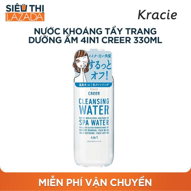 Nước khoáng tẩy trang dưỡng ẩm 4 trong 1 CreeR 330ml nhập khẩu