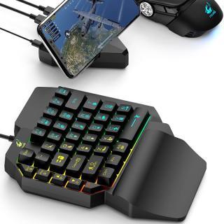 Bàn phím giả cơ FREE WOLF K15 chơi game Pubg Mobile, Rules of Survival, Free Fire trên điện thoại, máy tính bảng, Laptop và PC thumbnail