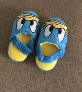 Dép lông Donal mang trong nhà cho bé siêu êm chân hàng xuất xịn size 25 26 thumbnail