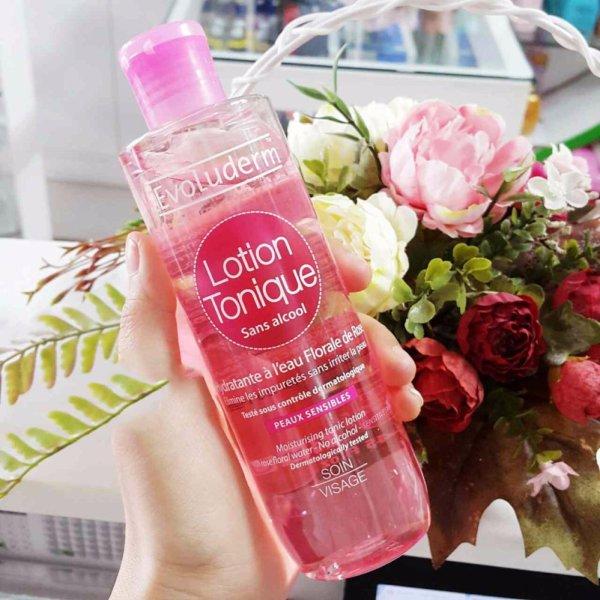 Nước hoa hồng Evolumder cấp ẩm, ngừa mụn, làm đều màu da