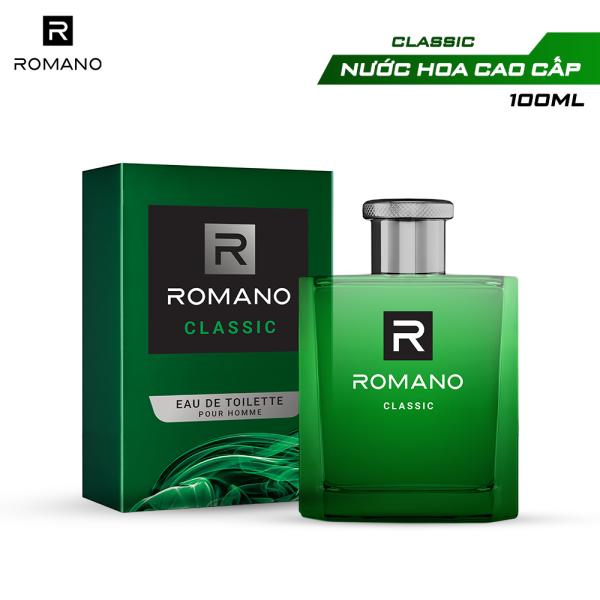 Nước hoa cao cấp Romano Classic 100ml nhập khẩu