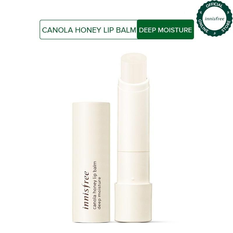 Son dưỡng môi từ mật ong và hoa cải Innisfree Canola Honey Lip Balm Deep Moisture 3.5g