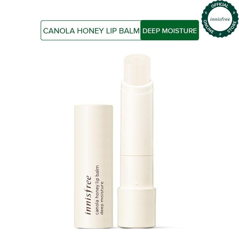 Son dưỡng môi từ mật ong và hoa cải Innisfree Canola Honey Lip Balm Deep Moisture 3.5g cao cấp