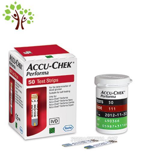 50 que thử ACCUCHECK performa +50 kim chích máu bán chạy