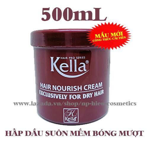 Hấp dầu Kella Nourish Cream 500ml cao cấp