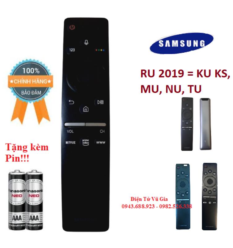 Remote Điều khiển tivi Samsung giọng nói RU 2019 có tìm kiếm bằng Tiếng Việt- Hàng chính hãng Made in Viet Nam mới 95% chính hãng