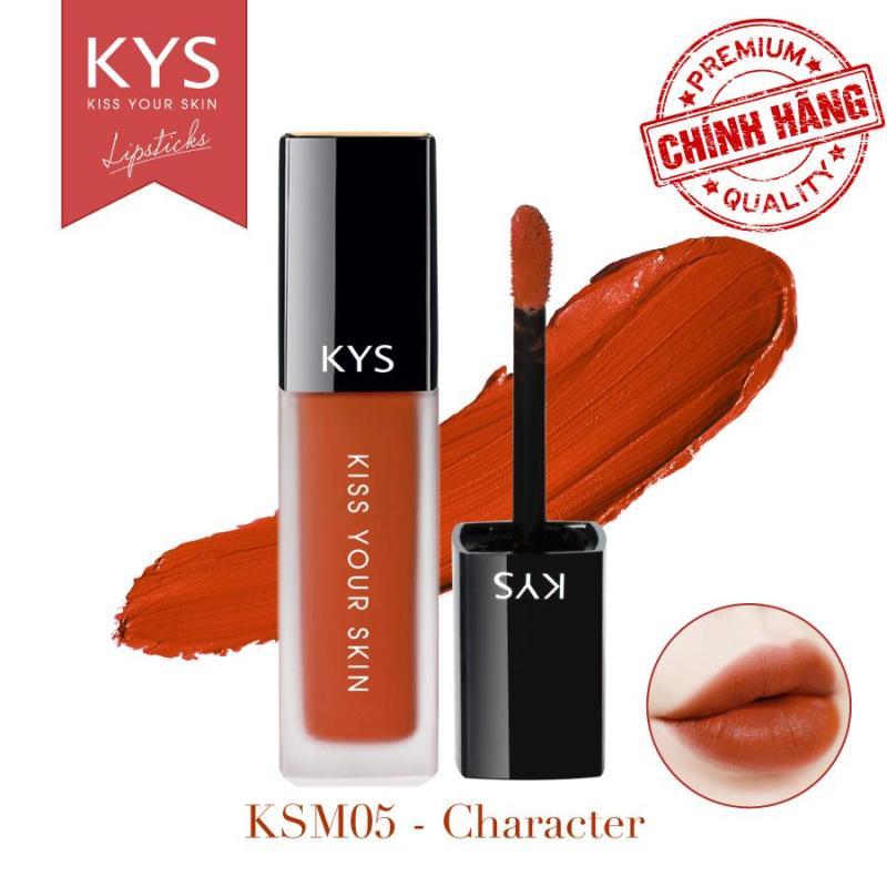 Son Chocolate Matte Liquid Lipstick KYS – CHARACTER CAM CHÁY