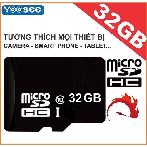 Thẻ Nhớ 32Gb/ 64Gb Tốc độ Cao, Chuyên Dụng Cho Camera, Điện Thoại, Loa đài - Bảo Hành 24 Tháng Đang Có Giảm Giá
