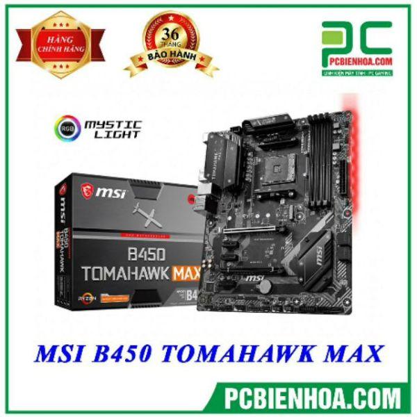 Bảng giá Mainboard MSI B450 TOMAHAWK MAX ( AM4 / ATX / 4xDDR4 ) Phong Vũ