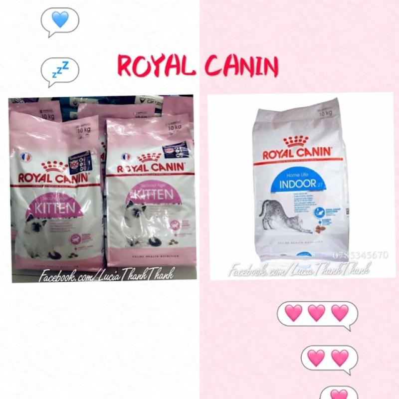 Thức ăn hạt khô Royal canin Kitten/Indoor 1 KG