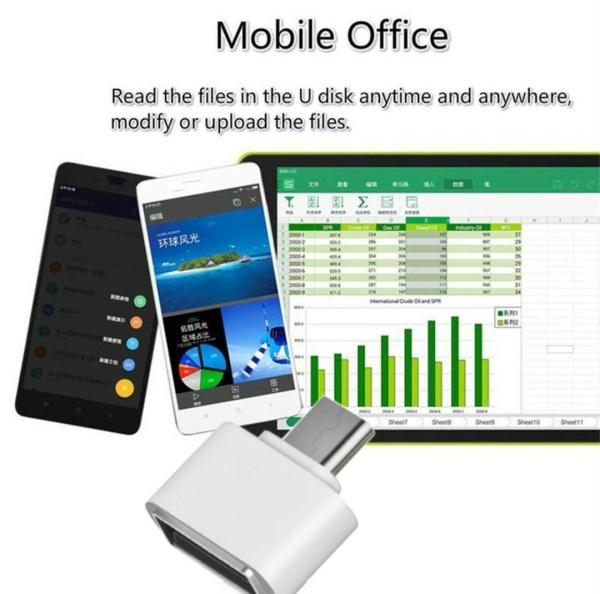 Bảng giá [AT30] OTG chuyển đổi USB A sang USB C Phong Vũ