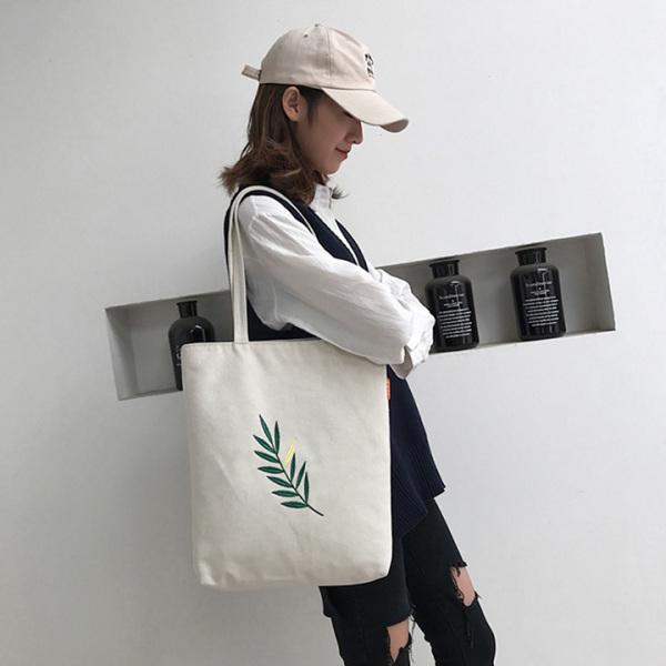 [Ảnh thật]Túi tote vải canvas mềm đi học đi làm siêu hot có khóa miệng tiện dụng phong cách Hàn Quốc-TALI STORE