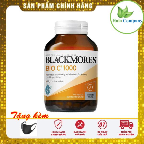 Viên uống bổ sung vitamin C Blackmores Bio C 1000mg (Hộp 150v viên)