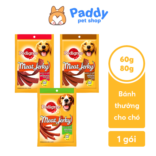 Bánh thưởng cho chó Pedigree Meat Jerky