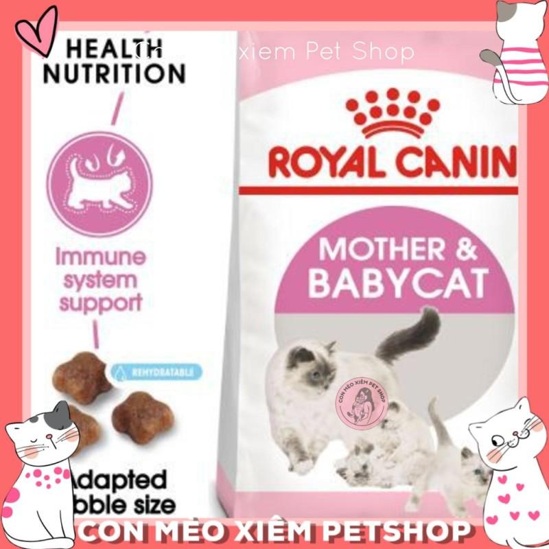 Hạt Mèo Royal Canin Mother Baby Cat 34 2Kg- Thức Ăn Dinh Dưỡng Mèo Mẹ Mèo Bầu Mèo Con Simple Pet Shop