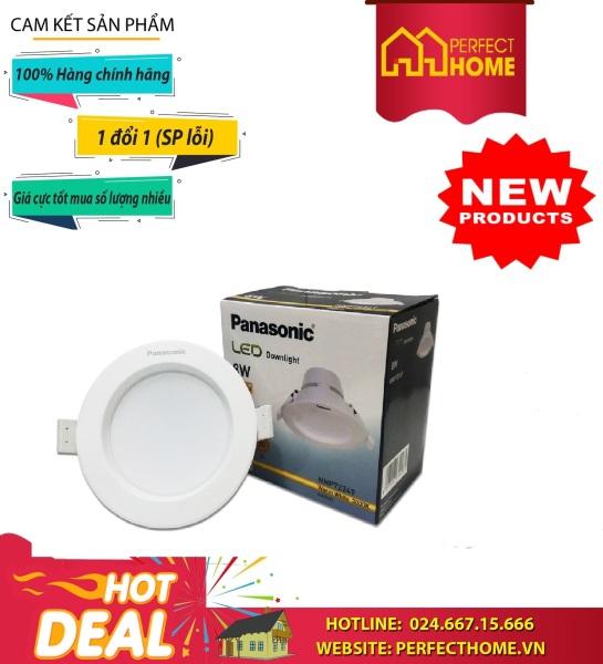 Đèn Downlight  Âm Trần Tròn 8W Ánh Sáng Vàng 3000K Nnp72249 Panasonic, Ánh Sáng Trắng 6500K Nnp72259 Panasonic