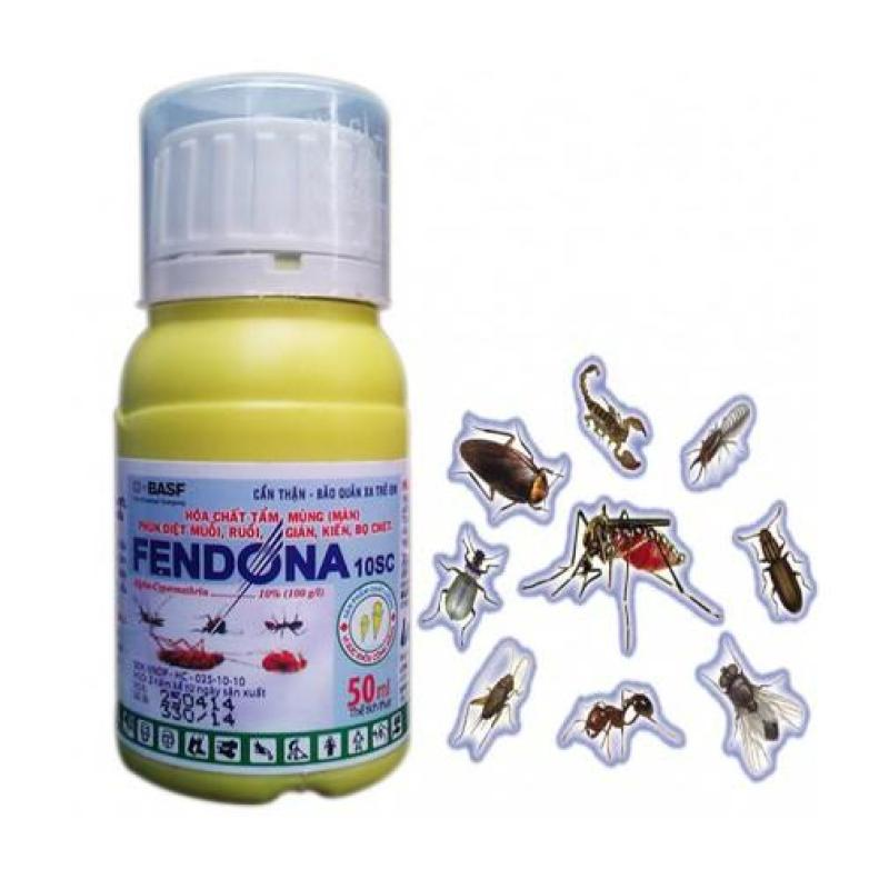 Nước diệt côn trùng FENDONA 50ml Diệt muỗi gián ruồi kiến bọ chét