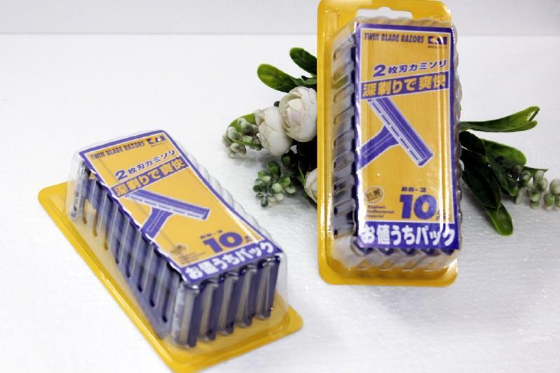 Set 10 dao cạo KAI Nhật Bản (Hàng nội địa Nhật) giá rẻ