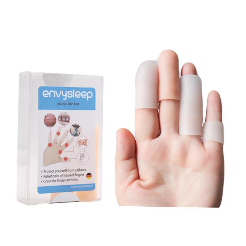 Miếng lót Silicon ENVYSLEEP bảo vệ ngón tay, sưng viêm, bong da, 1 bộ 2 cái nhập khẩu