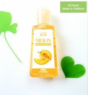Gel rửa tay khô 3k (60ml) Lamcosmé-MELON hương dưa lưới thumbnail