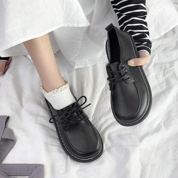 [Thu thập mã giảm thêm 30%] (Hàng có sẵn) giày uzzang oxford DOCTOR nữ BT39 giá rẻ