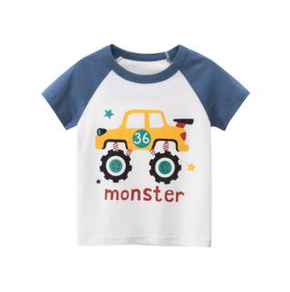 [ VIDEO] A133 Áo thun bé trai 27KIDS chất liệu 100% cotton in hình CAR MONSTER BLU 2020 cho bé từ 10-33kg (2 tuổi -10 tuổi) an toàn mềm mịn thích hợp cho bé đi học đi chơi thumbnail