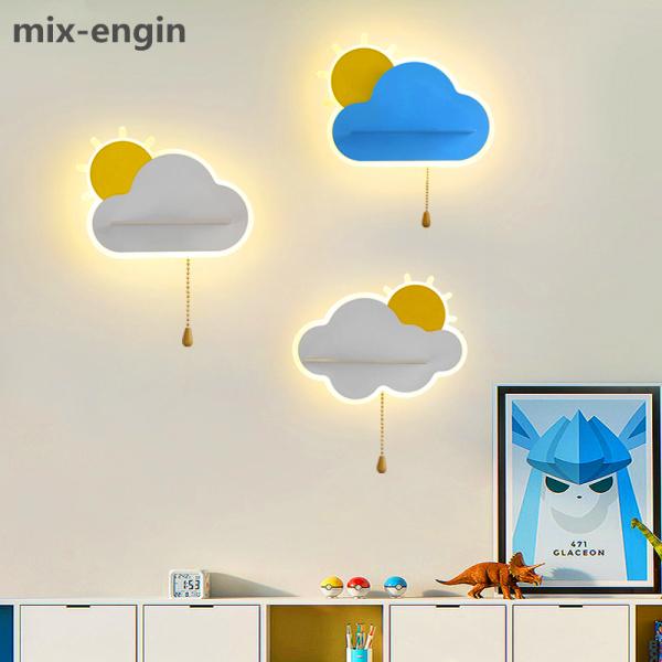 Bảng giá mix-engin New Modern Wall Lamps Cloud Shape Home Decoration Light For Living Room Bedroom Bedside Aisle Bathroom Luminarie Indoor Lighting