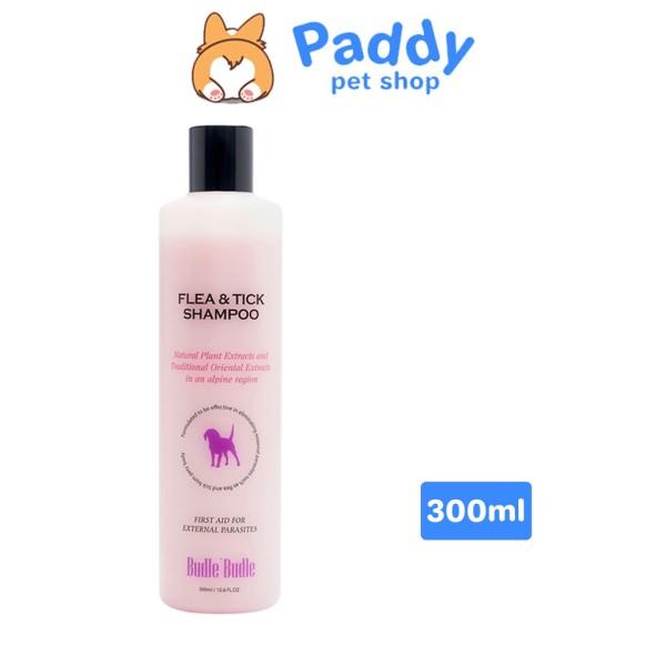Sữa Tắm Ve Và Bọ Chét Cho Chó Budle Budle Flea & Tick Shampoo Tinh Chất Thảo Dược