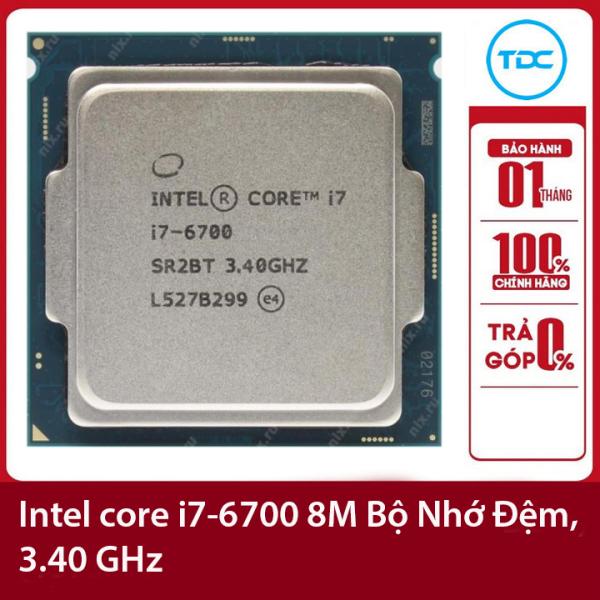 Bảng giá Bộ vi xử lý Intel CPU Core i7-6700 3.40GHz ,65w 4 lõi 8 luồng, 8MB Cache Socket Intel LGA 1151 Phong Vũ