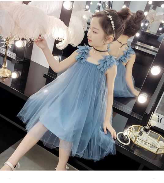 Giá bán Đầm váy ren công chúa ngọt ngào cho bé gái từ 11-30kg, Đầm đi chơi dự tiệc BAO CHẤT ĐẸP V52