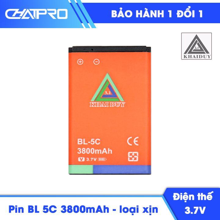 Pin BL 5C 3800mAh Khai Duy Loại Xịn Giá Siêu Cạnh Tranh