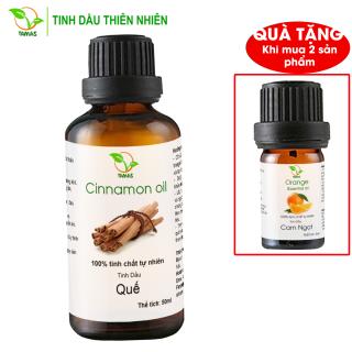 Tinh dầu Quế nguyên chất TAMAS - Khử mùi, kháng khuẩn, Tinh dầu thơm, Khử trùng, kháng viêm, tăng tính miễn dịch, tinh dầu Quế nguyên chất cao cấp - TAMAS thumbnail