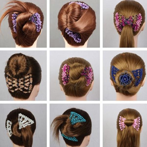 Bảng giá Kẹp đôi búi tóc đa năng tạo nhiều kiểu tóc dể thương Điện máy Pico