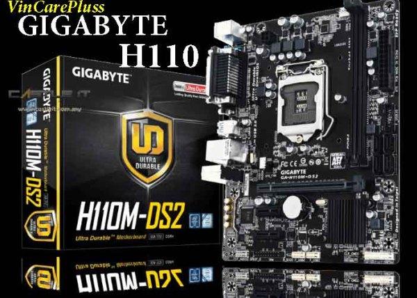 Main máy tính H110 Gigabyte/ Asus/ MSI tháo máy sáng trưng full tụ chạy tốt giá rẻ