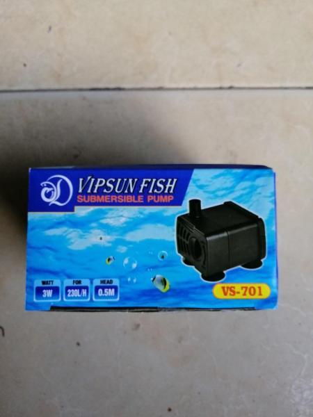 Máy Bơm Mini VS701 ( 3W) sử dụng cho Hồ Cá-Bể Cá