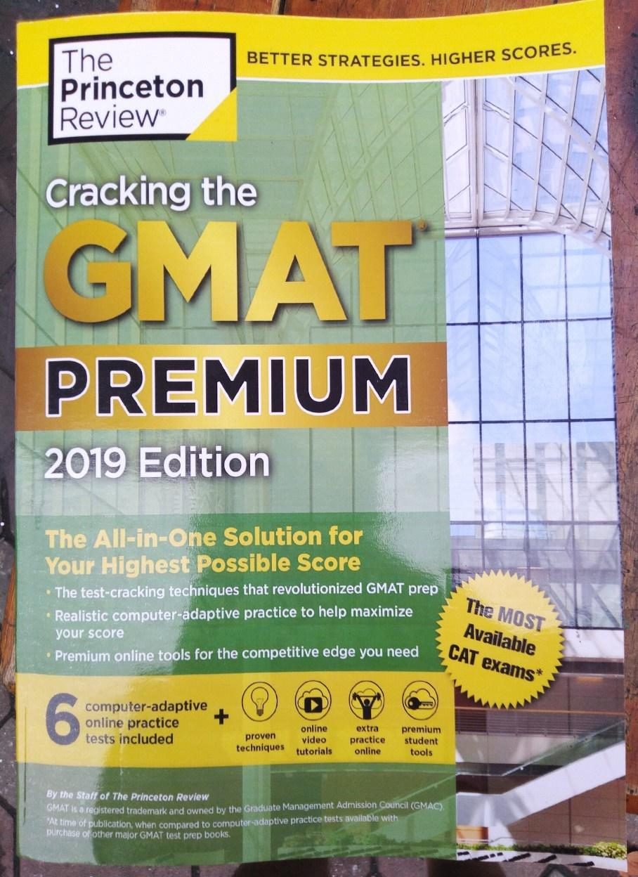 Mua Cracking the GMAT Premium Edition with 6 Computer-Adaptive Practice Tests, 2019