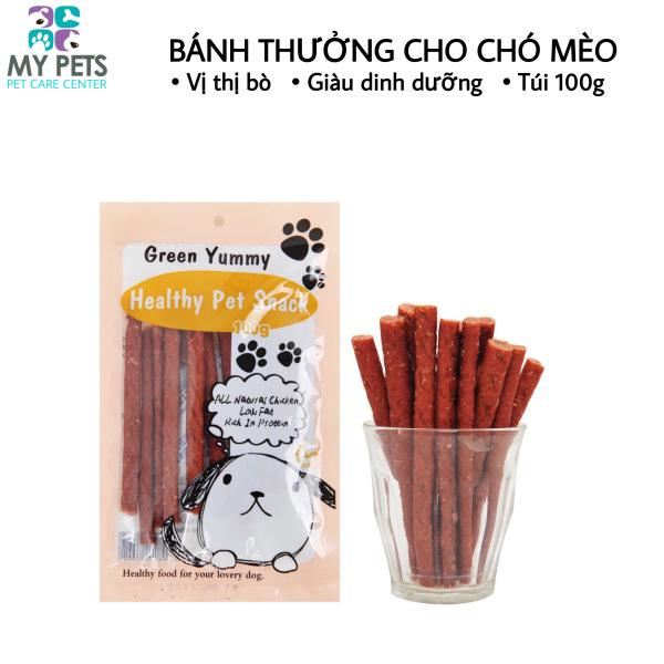 Bánh thưởng dành cho chó mèo hương vị thịt bò cây - Sack dành cho chó mèo