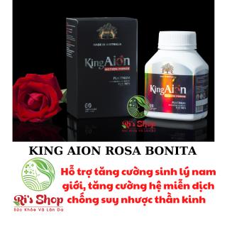 THỰC PHẨM HỖ TRỢ TĂNG CƯỜNG SINH LÝ NAM GIỚI - KING AION - ROSA BONITA - HỖ TRỢ GIẢM CÁC NGUY CƠ MÃN DỤC SỚM Ở NAM GIỚI thumbnail