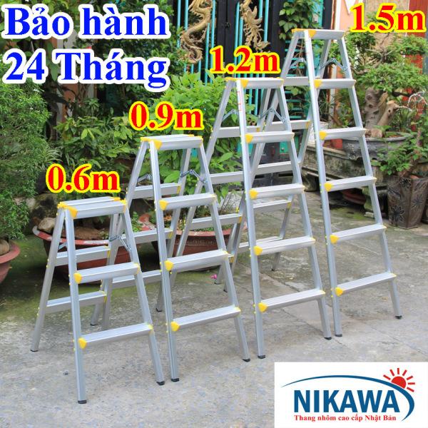 Thang nhôm chữ A Nikawa Nhật Bản 3 bậc, 4 bậc, 5 bậc, 6 bậc - nkd03, nkd04, nkd05, nkd06