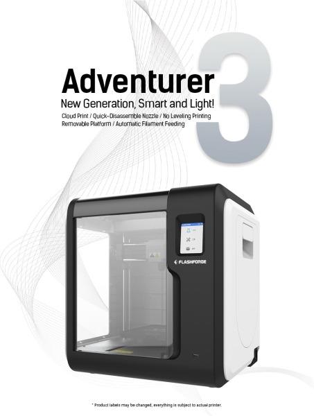 Bảng giá Máy in 3D không dây Adventurer 3 - Flashforge Phong Vũ