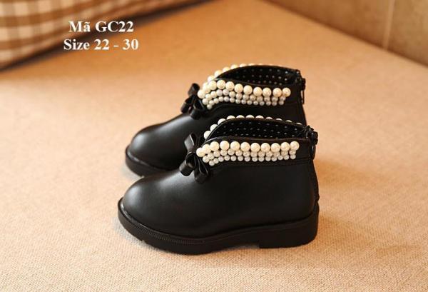 Giá bán Bốt bé gái kiểu dáng Hàn Quốc GC22
