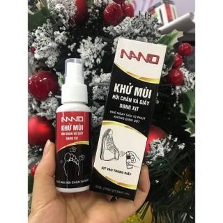 Xịt chống hôi chân nano, nước khử mùi hôi giày cao cấp TT thumbnail