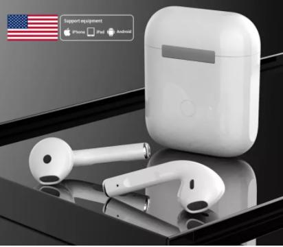 [KHUYẾN MÃI KHỦNG] Tai nghe Bluetooth, tai nghe không dây Airpod 2, âm thanh đỉnh cao trung thực, full tính năng định vị đổi tên cảm biến 1 chạm thông minh -vô cùng nhỏ gọn và thời trang( BẢO HÀNH 12 THÁNG)