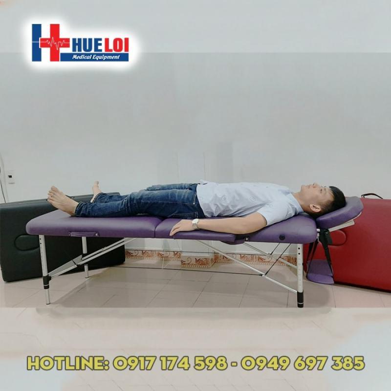 Giường trị liệu gấp gọn dạng vali